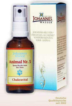 Animal Nr. 5 Chakravital Blütenessenz Spray 50 ml